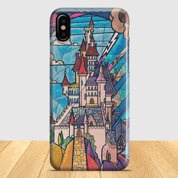 Beauty And The Beast Bookmark iPhone X Case | Tridicase