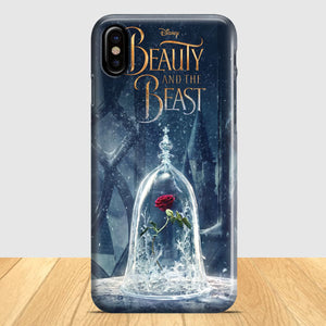 Beauty And The Beast Flower iPhone X Case | Tridicase
