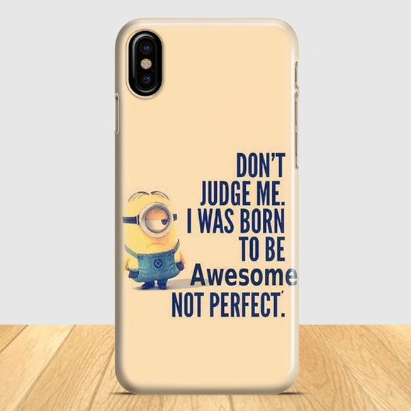 Best Minion Whaaat Idea iPhone X Case | Tridicase