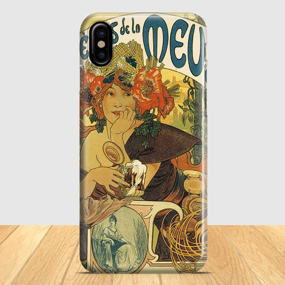 Bieres De La Muse Art iPhone X Case | Tridicase