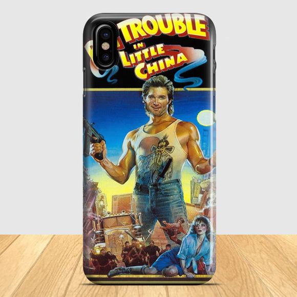 Big Trouble In Little China Cover iPhone X Case | Tridicase
