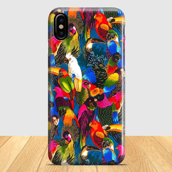 Bird Pattern iPhone X Case | Tridicase