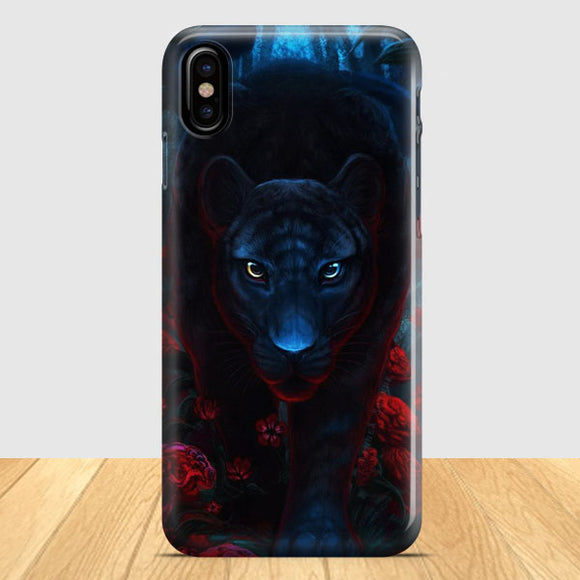 Black Panther Movie Poster iPhone X Case | Tridicase