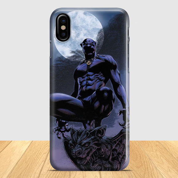 Black Panther Suit Art iPhone X Case | Tridicase
