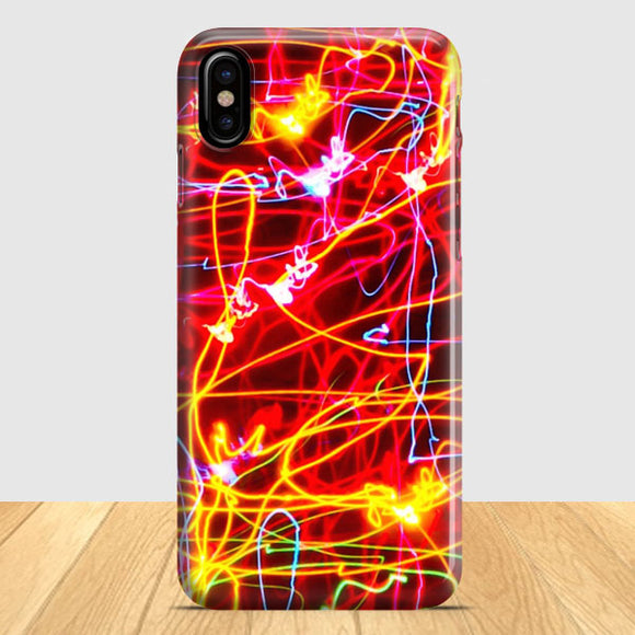 Bright Colorful iPhone X Case | Tridicase