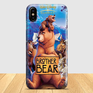 Brother Bear iPhone X Case | Tridicase
