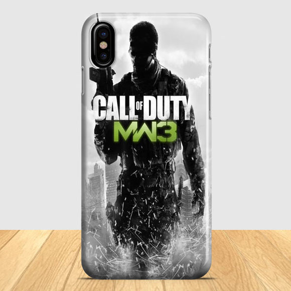 Call Of Duty Modern Warfare 3 iPhone X Case | Tridicase