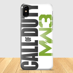 Call Of Duty Mw3 iPhone X Case | Tridicase