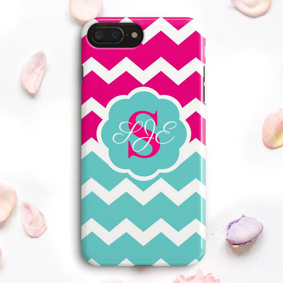 Cute Monogram iPhone 7 Plus Case | Tridicase
