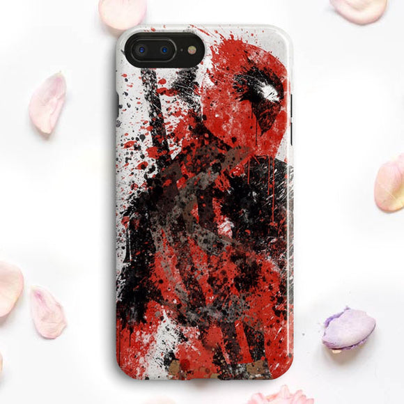 Deadpool Walpaper iPhone 7 Plus Case | Tridicase