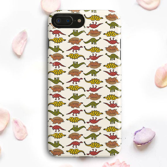 Dinosaur Pattern iPhone 7 Plus Case | Tridicase