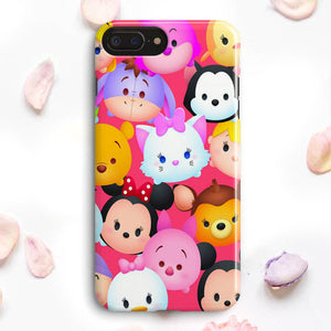 Disney Tsum Tsum Characters iPhone 7 Plus Case | Tridicase