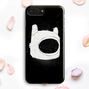 Finn Hat  Adventure Time Cartoon iPhone 7 Plus Case | Tridicase