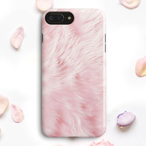 Fluffy Girly iPhone 7 Plus Case | Tridicase