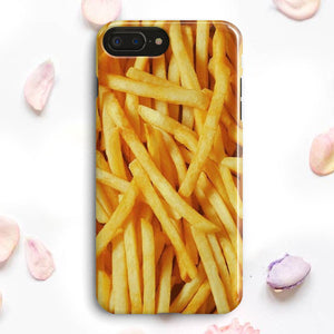 French Fries Texture Pattern iPhone 7 Plus Case | Tridicase
