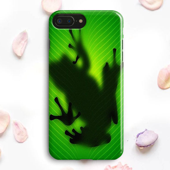 Frog On Green Leaf iPhone 7 Plus Case | Tridicase