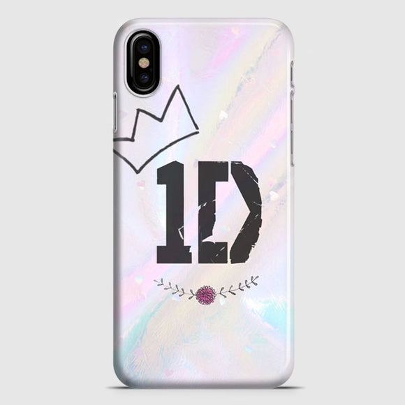 1 Direction Glitter iPhone XS Case | Tridicase