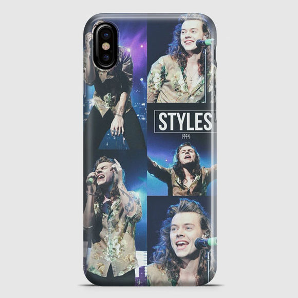 1 Direction Harry Styles iPhone XS Case | Tridicase