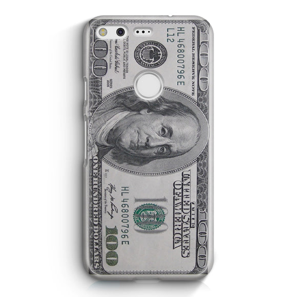 100 US Bill Google Pixel Case | Tridicase
