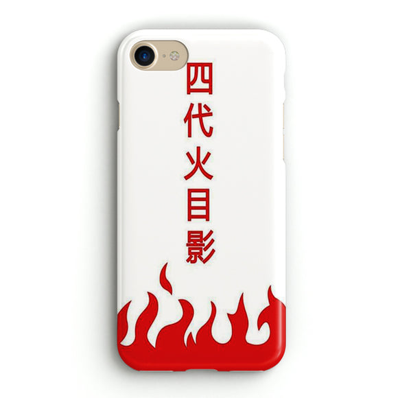 4th Hokage Naruto iPhone 8 Case | Tridicase