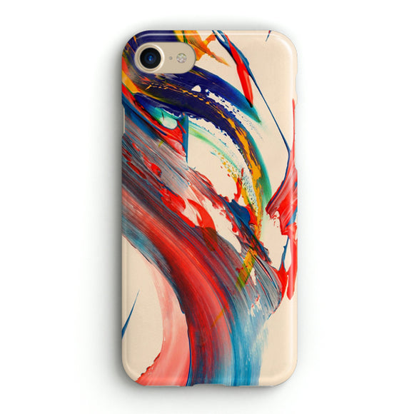 Abstract Brush Stroke iPhone 8 Case | Tridicase