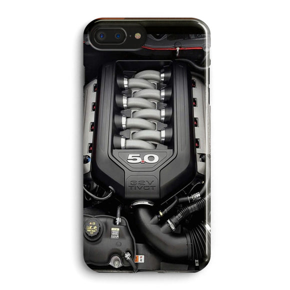 5.0L Coyote Ford Mustang GT Engine iPhone 7 Plus Case | Tridicase