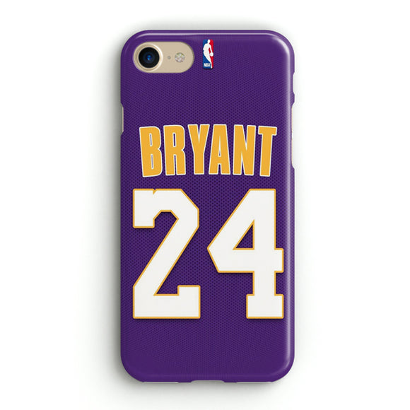 24 Bryant iPhone 8 Case | Tridicase