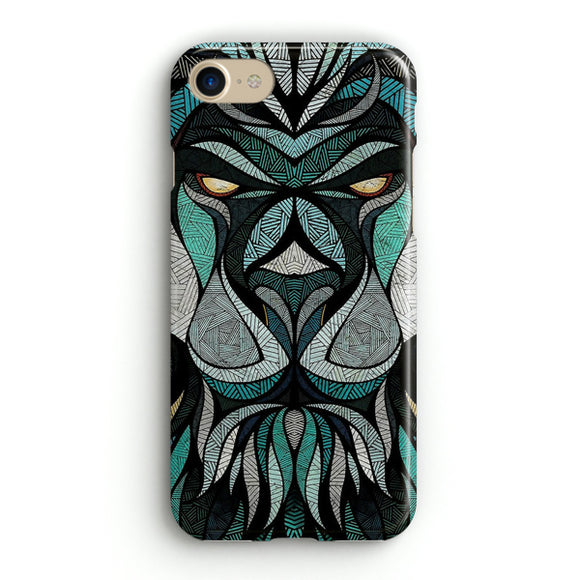 Abstract Lion iPhone 8 Case | Tridicase