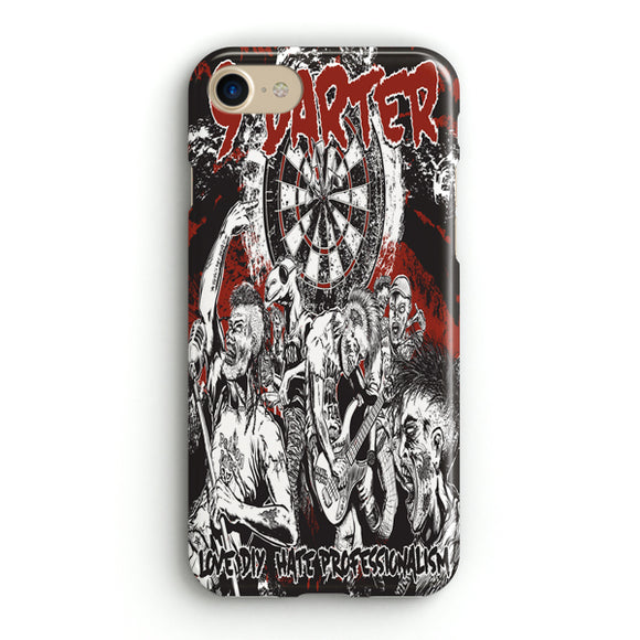 9 Darter Punk Rock Cover iPhone 8 Case | Tridicase