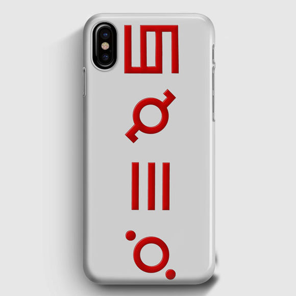 30 Seconds To Mars Logo iPhone X Case | Tridicase