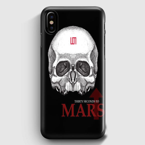 30 Seconds To Mars iPhone X Case | Tridicase