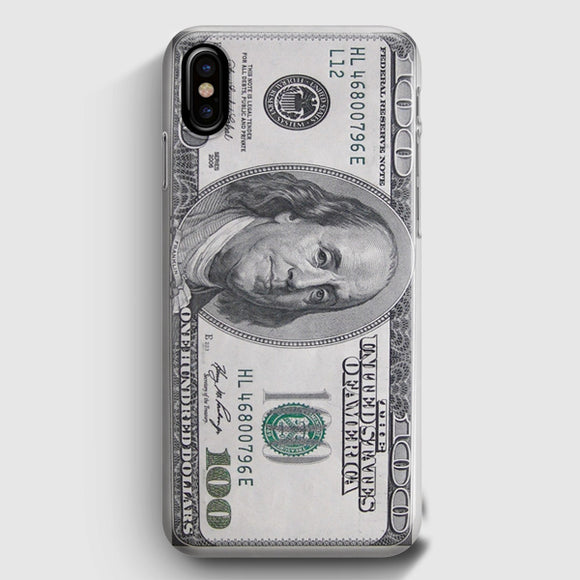 100 US Bill iPhone X Case | Tridicase