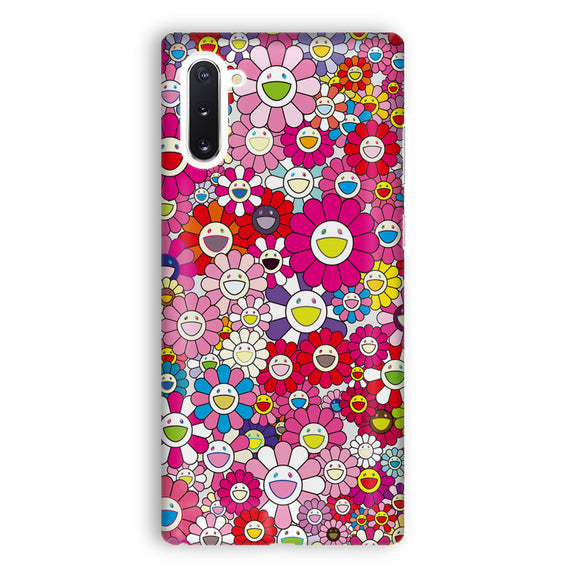 Pink Flowers Samsung Galaxy Note 10 Case | Tridicase