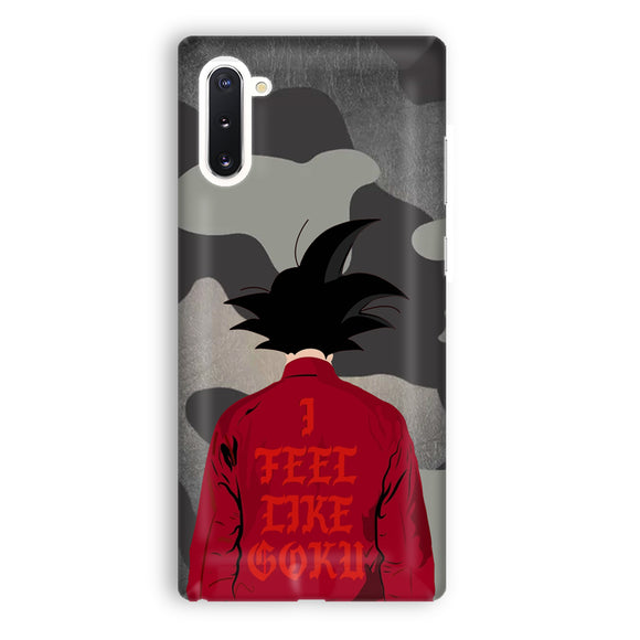 I Feel Like Goku Samsung Galaxy Note 10 Case | Tridicase
