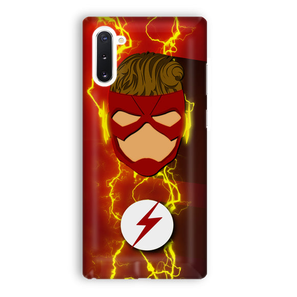 Wally West Refined Costume Artwork Samsung Galaxy Note 10 Case | Tridicase