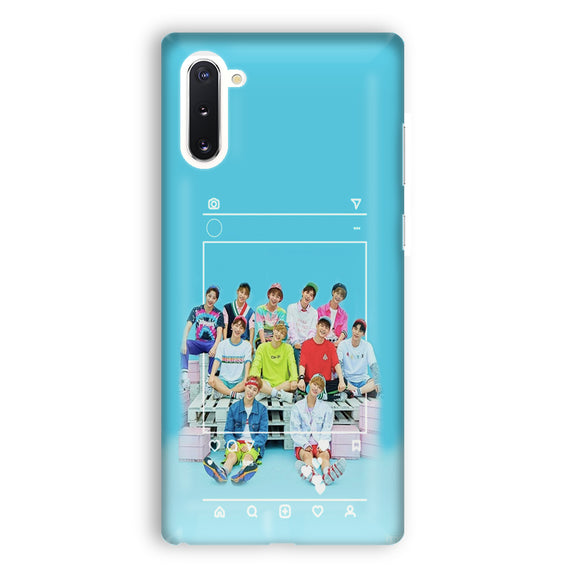 Wanna One Samsung Galaxy Note 10 Case | Tridicase