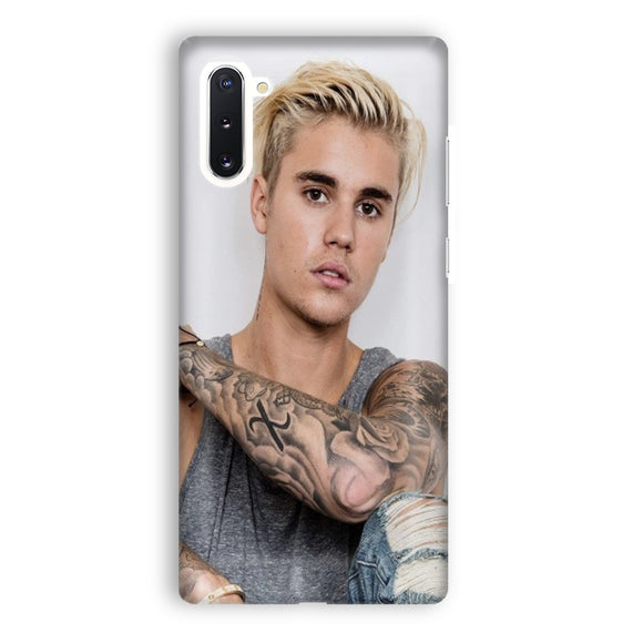 Justin Bieber Tattoo Samsung Galaxy Note 10 Case | Tridicase