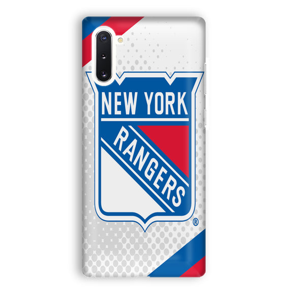 New York Rangers Logos Samsung Galaxy Note 10 Case | Tridicase