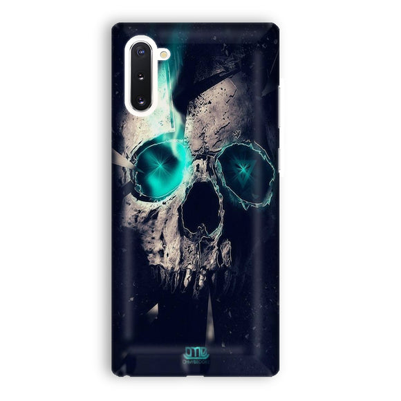 Skull And Illusion Samsung Galaxy Note 10 Case | Tridicase