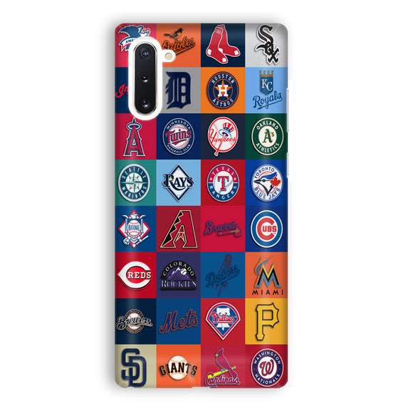 Logos All Baseball Samsung Galaxy Note 10 Case | Tridicase