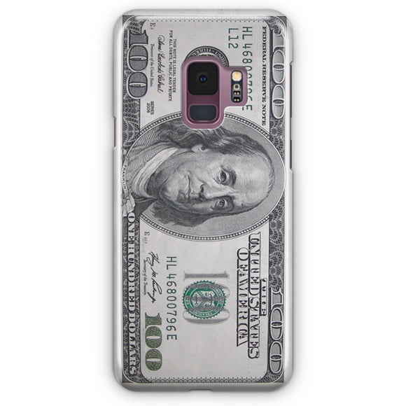 100 US Bill Samsung Galaxy S9 Case | Tridicase