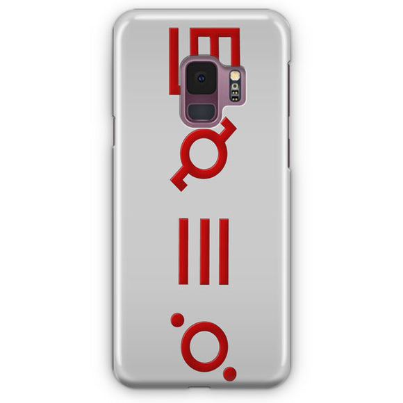 30 Seconds To Mars Logo Samsung Galaxy S9 Case | Tridicase