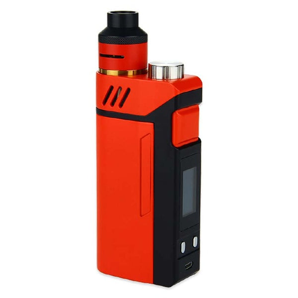 100% Original IJOY RDTA BOX Kit 200W with 12.8ml Large e-juice tank & 220W RDTA BOX MOD & IMC-3 / IMC-Coil 3 coil E-Cig Vape Mod