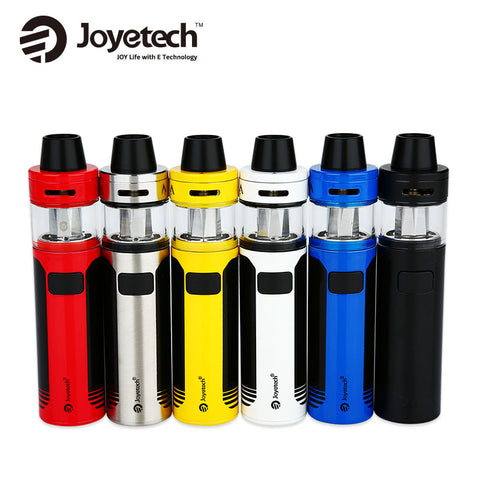 Joyetech CuAIO D22 Starter Kit Built-in 1500mAh Battery 3.5ml/2ml Capacity Tank E Cig Vape Vs Ego Aio D22 Kit Original Cigarette