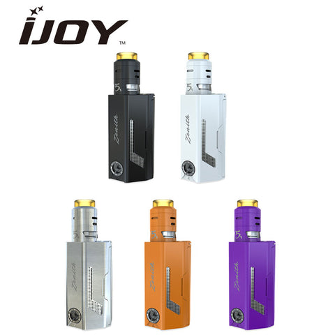 Original IJOY MAXO Zenith VW Kit 300W with RDTA 5S Tank 2.6ml Powered by 3x18650 vs Huge Power Vaping Zenith Mod 300W No Battery