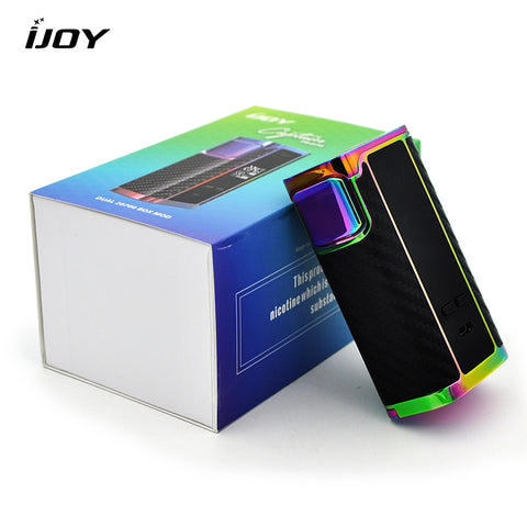 Original IJOY Captain 234W PD270 TC Box Mod electronic cigarette mod vape kit with 20700 battery Firmware Upgradable