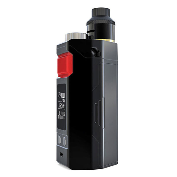 240W Original IJOY RDTA BOX Triple TC Kit with 12.8ml Tank Maximum 240W Output No 18650 Battery Long Time Vaping E-cig Box Kit