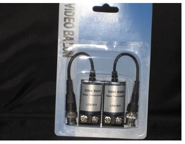 LTS LTA1011 BNC to RJ45 Passive Balun with no Power Connector (1 pair)