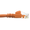 CAT6 Crossover Ethernet Network Cable 550Mhz ORANGE 24AWG Network Cable (3Ft - 100Ft)