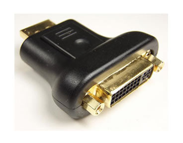 AD-DDMF DisplayPort Male to DVI Female Adapter